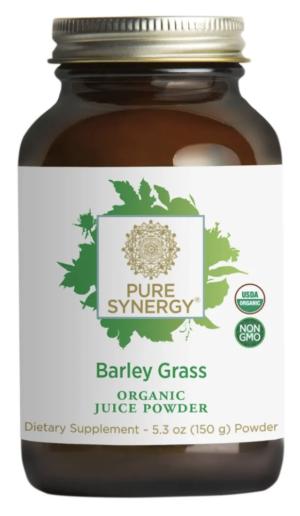 Pure Synergy Organic Barley Grass Juice Powder 5.3oz