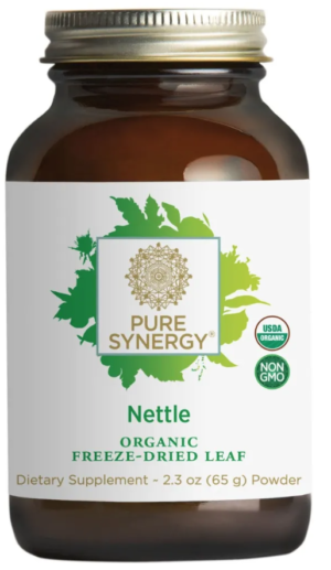 Pure Synergy Organic Freeze-Dried Nettle Leaf Powder 2.3oz