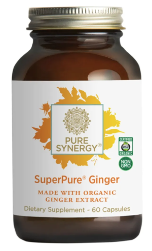 Pure Synergy SuperPure Ginger Extract 60 capsules