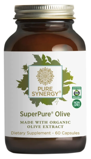 Pure Synergy SuperPure Olive Extract 60 capsules