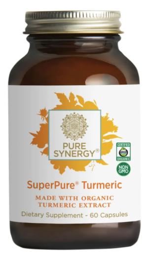 Pure Synergy SuperPure Turmeric Extract 60 capsules