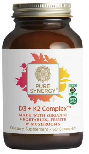 Pure Synergy D3 + K2 Complex 60 capsules