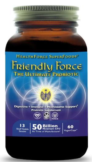 Health Force Friendly Force™ – 120 VeganCaps™ (60 servings)