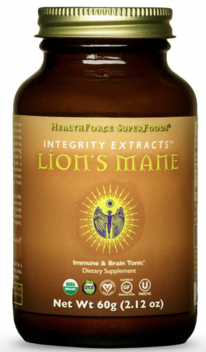 HealthForoce Integrity Extracts™ Lion's Mane – 60g Powder