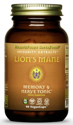 HealthForce Integrity Extracts™ Lion's Mane – 90 VeganCaps™