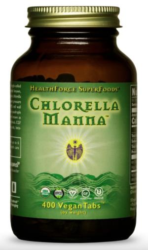 HealthForce Chlorella Manna™ – 400 VeganTabs™