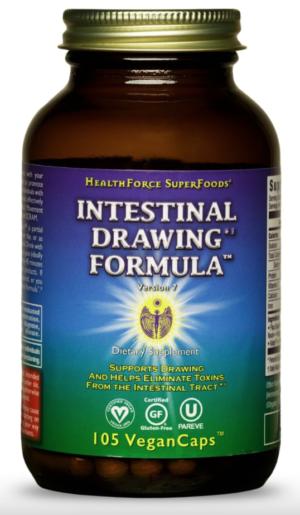 HealthForce Intestinal Drawing Formula™ – 105 VeganCaps™