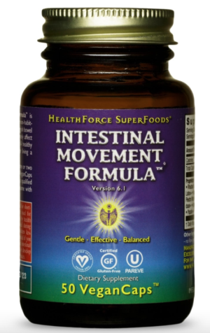 HealthForce Intestinal Movement Formula™ – 50 VeganCaps™