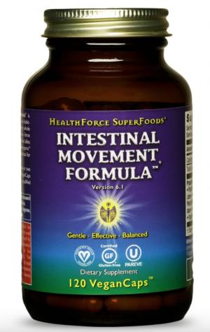 HealthForce Intestinal Movement Formula™ – 120 VeganCaps™