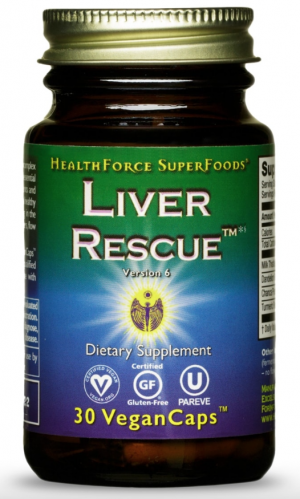 HealthForce Liver Rescue™ – 30 VeganCaps™
