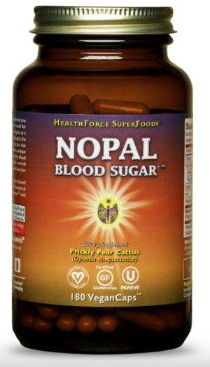 HealthForce Nopal Blood Sugar™ – 180 VeganCaps™