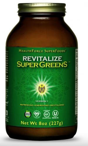 HealthForce Revitalize SuperGreens™ – 8 oz Powder