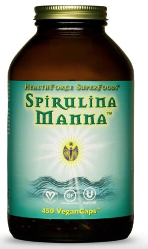 HealthForce Spirulina Manna™ – 450 VeganCaps™
