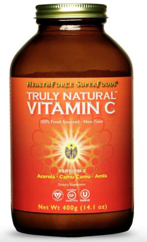 HealthForce Truly Natural™ Vitamin C – 400g Powder