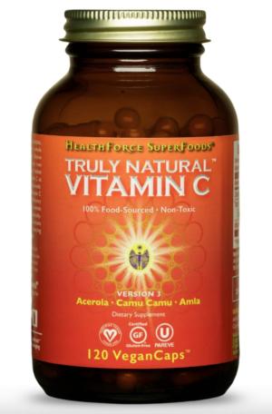 HealthForce Truly Natural™ Vitamin C – 120 VeganCaps™