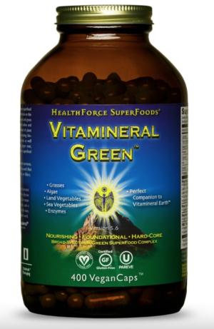 HealthForce Vitamineral Green™ – 400 VeganCaps™