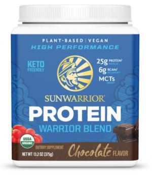 Sunwarrior Chocolate Warrior Blend Organic 15 servings powder