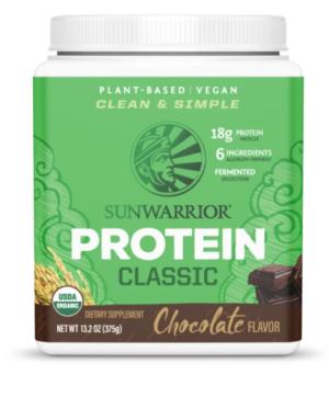 Sunwarrior Chocolate Classic Protein 15 servings powder
