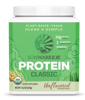 Sunwarrior Natural Classic Protein 15 servings powder