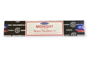 Satya Nag Champa Midnight Edition : Meditation Incense Sticks -12 sticks