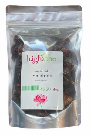HighVibe - Tomatoes Dried / Organic - Bulk 4oz