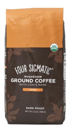 Four Sigmatic -Ground Mushroom Coffee With Lion's Mane- 12oz