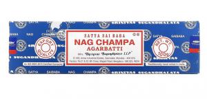 Satya Sai Baba Nag Champa Agarbatti Incense - 12 Sticks