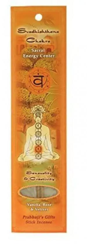 Prabhuji's Gifts - Incense Sticks Root Chakra Muladhara - Grounding and Serenity- 10 sticks