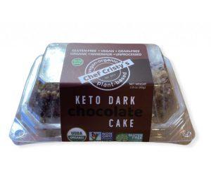 Chef Cristy's Plant-Based Keto Dark Chocolate Cake