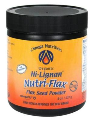 Omega Nutrition Hi-Lignan Nutri-Flax Organic Flax Seed Powder