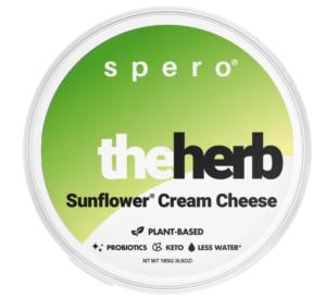 Spero The Herb Sunflower Cream Cheese