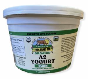 Larson Farm & Creamery A2 Organic Yogurt 100% Grass Fed
