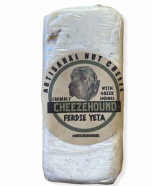 Cheezehound Artisanal Nut Cheese Ferdie Yeta With Greek Herbs